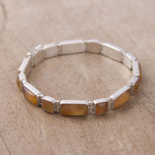 Opal wristband bracelet 'Sweetheart'
