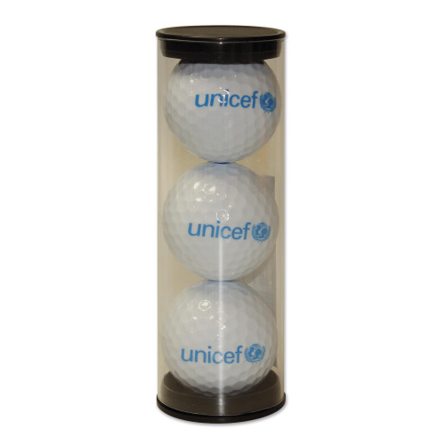 UNICEF Logo Golf Balls Set of 3 'Tee Time'