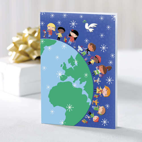 UNICEF Boxed Holiday Cards set of 20 'Children Around the World'