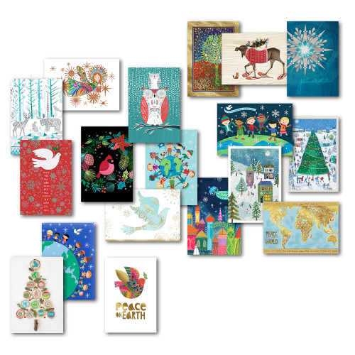 UNICEF Holiday Card Assortment set of 20 'Holiday Card Assortment'