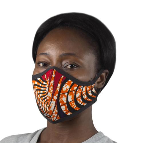 Reusable Cotton Face Mask 'Live'