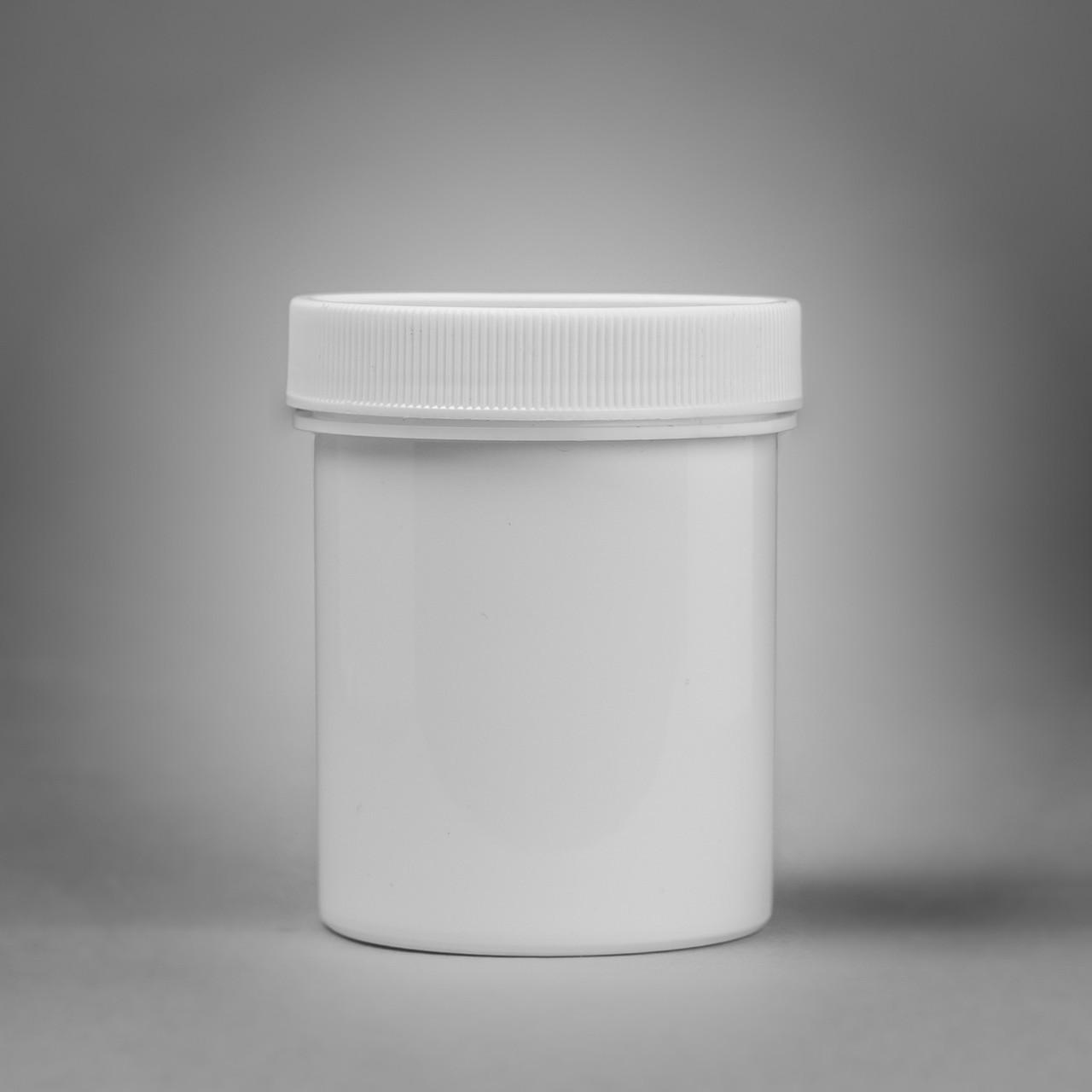 SCREW CAP 118.0ML (4OZ) POLYPROPYLENE JARS (PACK OF 12)