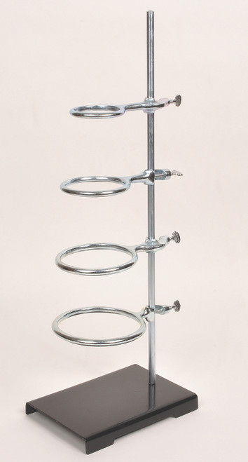 United Scientific Supplies SET462 Support Stand with Cast Iron Ring 3//4 Ring Size 6 Base Length x 4 Base Width