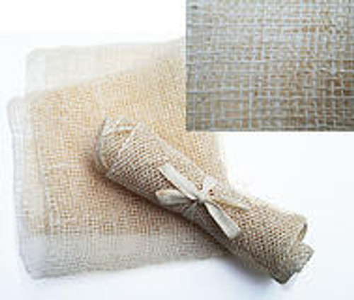 Ayate hand woven fibers from the Maguey plant.    Manufactured Fair Trade and renewal able resources.  It comes with a dry skin brush brochure about the benefits.   Gently scrub away dirt and dead skin cells. Helps prevent clogged pores. Thousands of natural bristles refresh and invigorate, giving skin a healthy, radiant glow. Dry brushing improves the complexion making skin look younger and fresher and have a velvety touch.