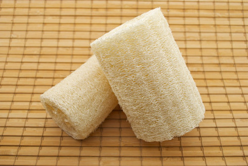 Loofa on a rope for the bath sauna or shower enjoy your spa day great for both men and women