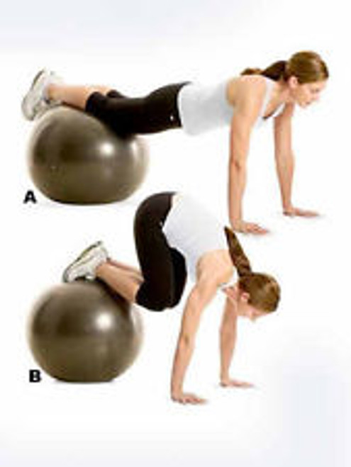 This is on sale and a fraction of the price.  A dvd or Video to show ways to have fun on the fit ball and stretch your body.