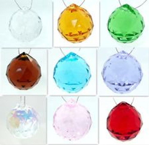 Crystals hanging glass for windows  Call us for details and colors.