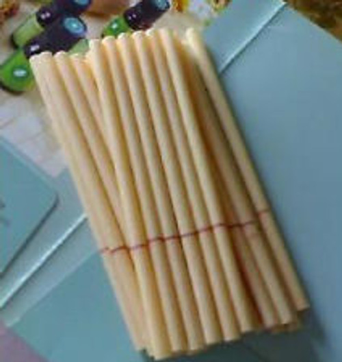 Ear Candles complete Made with organic Beexwax  we have 2 pack, 4 pack    and bulk for 1.89 each in 100 piece increments