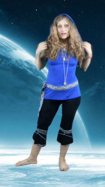 Easy light weight pants, great for dancing, yoga and mischief!  Have fun!
