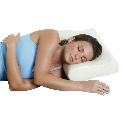 This product is hypoallergenic and designed to maintain its firmness and shape for many years.  It is a small investment that will serve you well!      Keeps your neck, shoulders, and spine in perfect alignment     Responds to the body's weight and warmth     Double-arch design provides complete contoured support     Relieves stiffness, soreness, tension, and pressure     hypo-allergenic and long-lasting: maintains firmness and shape for many years
