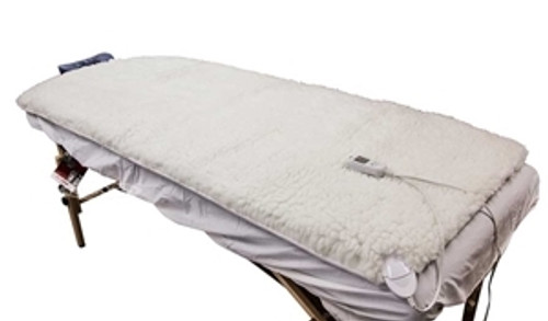 Massage table warmer mat heating for massage table