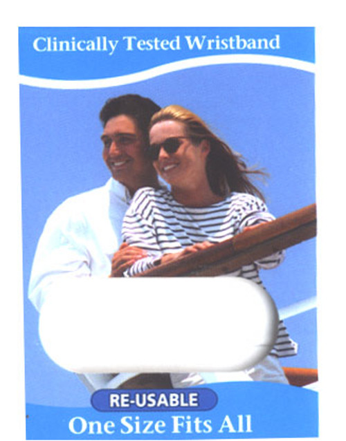 Sea-band / Travel eaze  products help decrease discomfort without drugs... No side effects! Acu pressure wristbands for motion sickness Great for all types of traveling.  These are proven effective and used worldwide.  Used by people of all ages who want an alternative to drugs and especially safe for children.  Worn over the stomach points and remind the person to feel good.