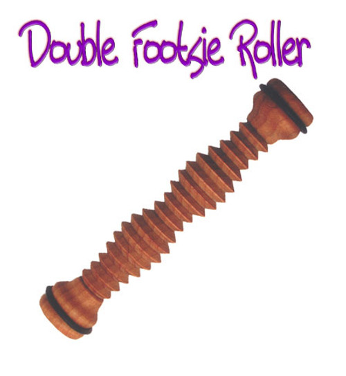 This item is fair trade and  the family of Bodytools Footsie Rollers  are quality products made of  Kiln-dried Plantation Grown  Mahogany Each piece is hand-dipped in pure oil & beeswax.