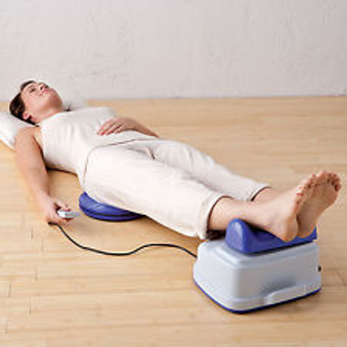 Circulation/Lymphatic Stimulation This aerobic exerciser creates a wave-like motion up the body and spine, providing a gentle massage, which promotes blood circulation and fluid drainage while reducing the effects of stress by rapidly inducing a deep state of relaxation. Your body is oxygenated as you muscles, tissues and vital organs are being revitalized . You feel rejuvenated and your overall energy is increased in just 15 minutes.