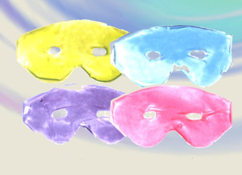 Liquid-filled eye mask helps you feel refreshed and rejuvenated instantly. Helps sooth away tension and strain around the eyes, nose, sinus, head and cheeks. Simple and easy to use. For fast relief of headaches and sinus pain or eye strain. Colors: Celery, Blue, Pink & Lavender