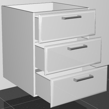 Base Drawer Unit (3D60)