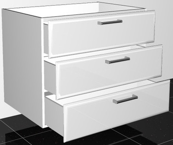 Base Drawer Unit (3D90)