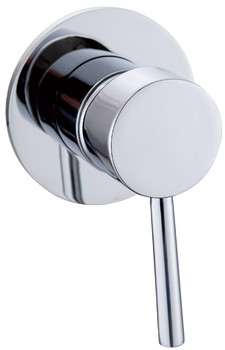 Chrome Round Pin Handle Mixer