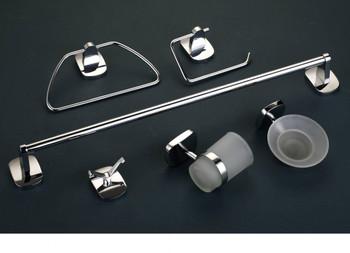 6pcs Chrome Bathroom Accessories Set URSA