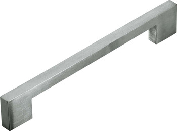 Cupboard Handle - Solid 128mm - Square Edge