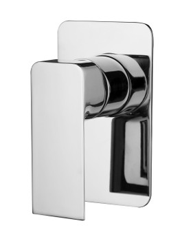 Shower Mixer with Square Handle