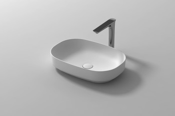 Solid Surface above counter vanity bowl (plug and washer not included)