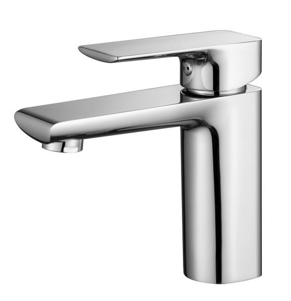 100501   Chrome Basin Mixer