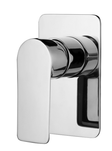 Contempo Shower Mixer with Square Handle