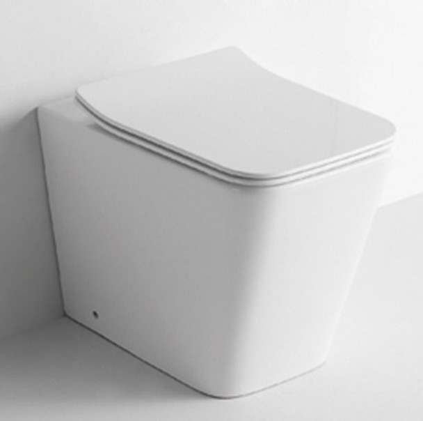 Back to Wall Square Pan only to suit inwall system
