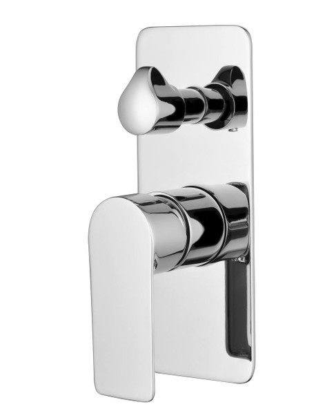 Contempo Wall Mount Shower Mixer with diverter - chrome