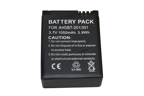 Battery for Camcorder GOPRO HERO 3, HERO 3+ 3.7V / 1050MAH / 3.9WHR(GOP-1002)
