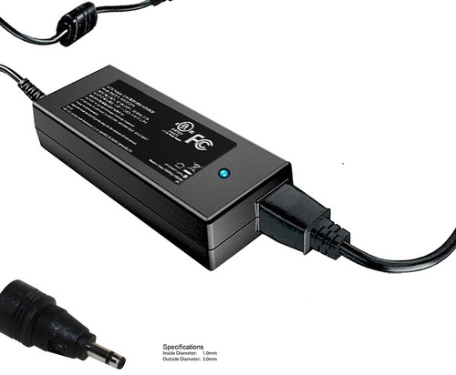 40W AC Adapter for various Samsung NP900, Chromebook Series 5, Series 7, Series 9 models