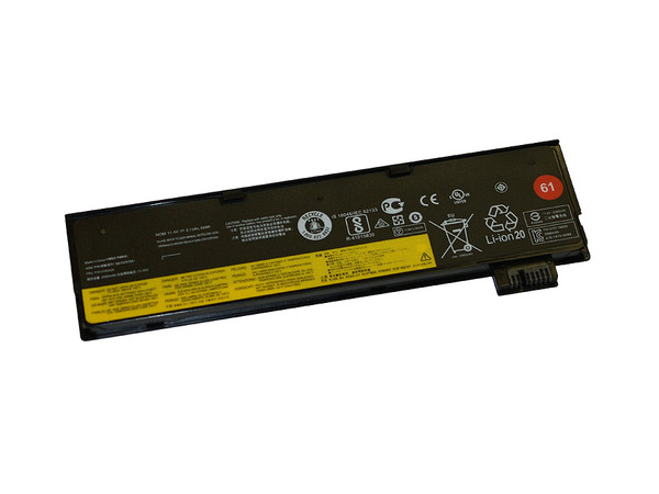 Replacement Battery for Lenovo Thinkpad 25, T470, T480 & T570 Series Laptops