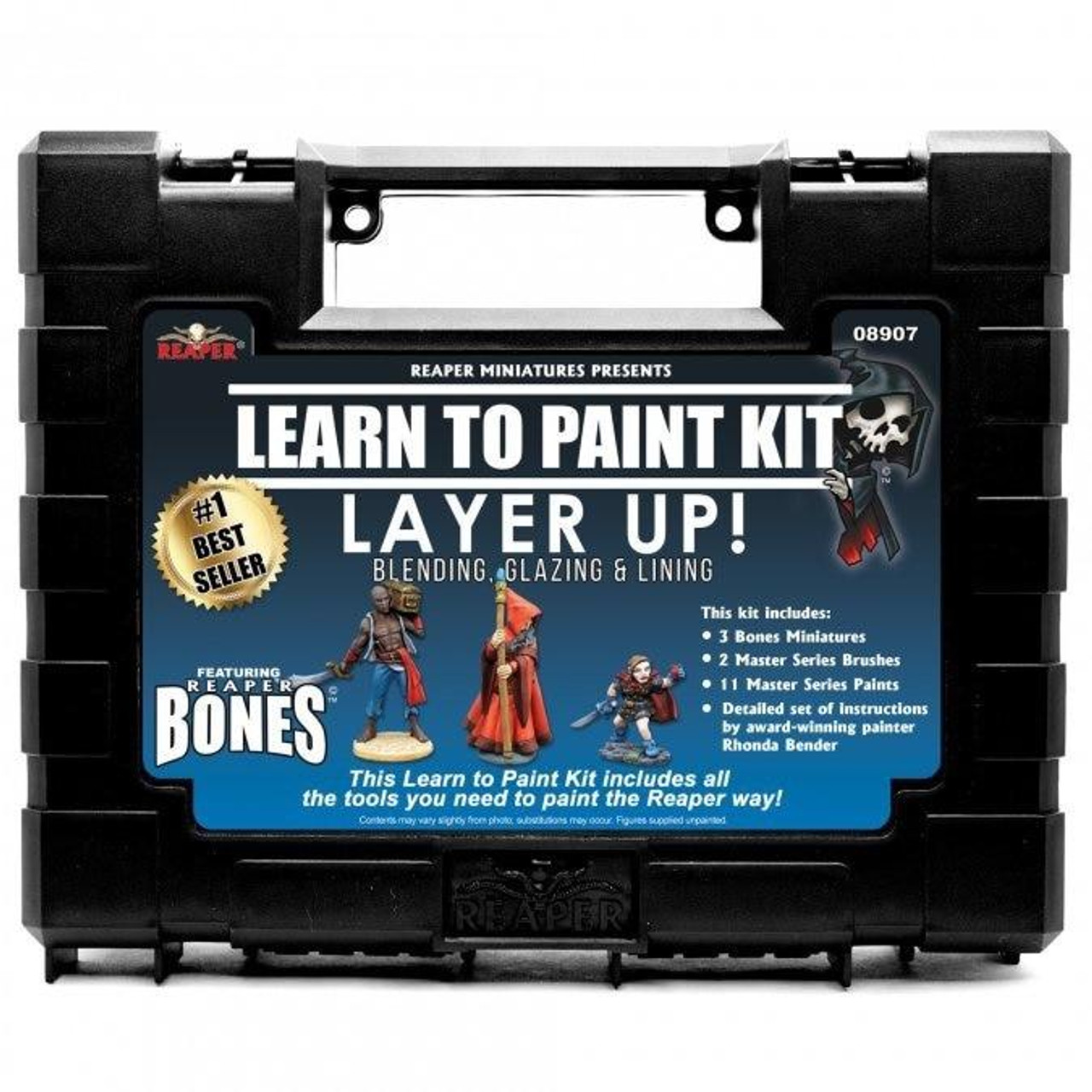 Reaper Bones - Layer Up Paint Set Learn To Paint Kit