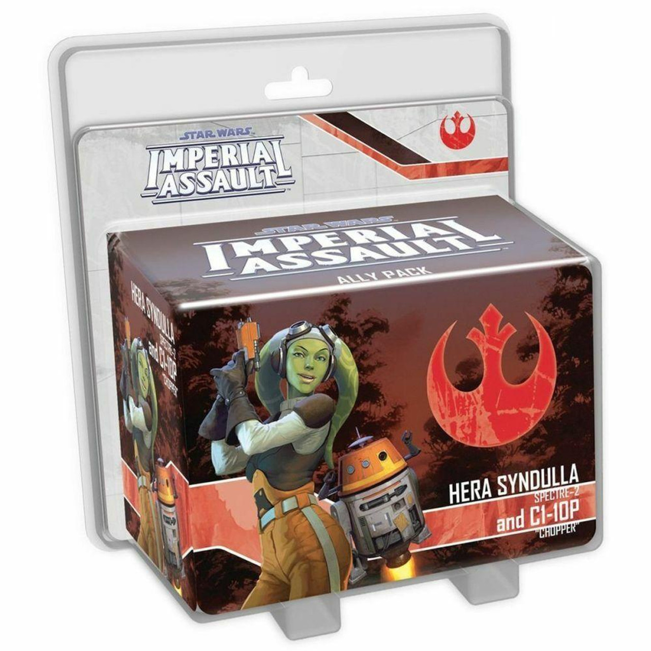 Fantasy Flight Games Imperial Assault - Hera Syndulla And C1-10P