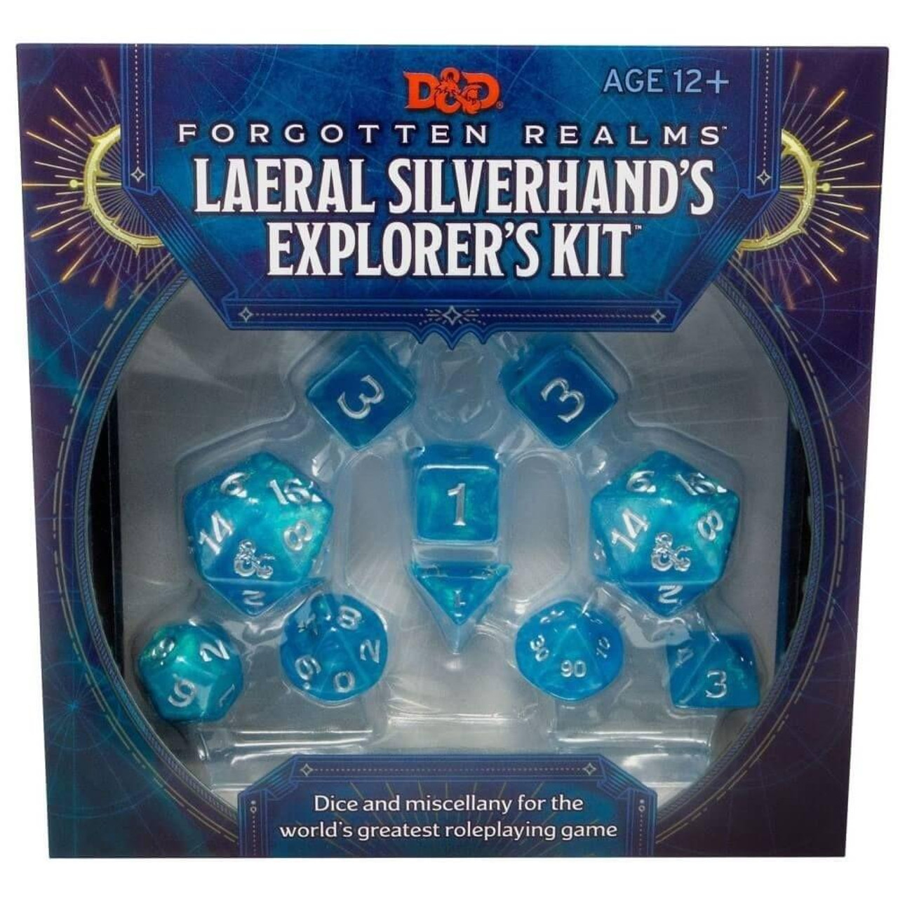 Wizards of the Coast DandD - Forgotten Realms - Laeral Silverhands Explorers Kit