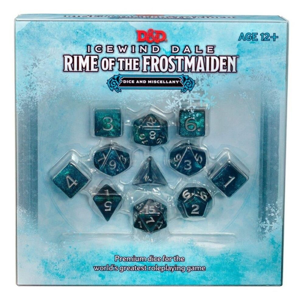 DandD Icewind Dale Rime of the Frostmaiden Dice and Miscellany