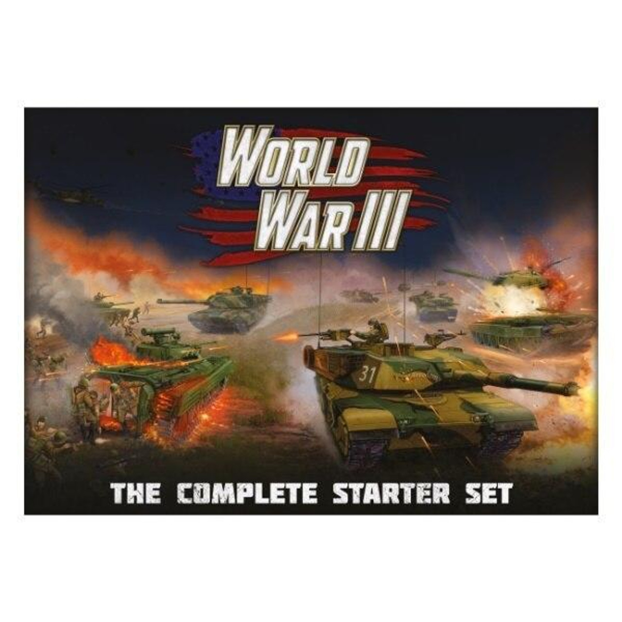 Battlefront Miniatures Team Yankee - World War III The Complete Starter Set