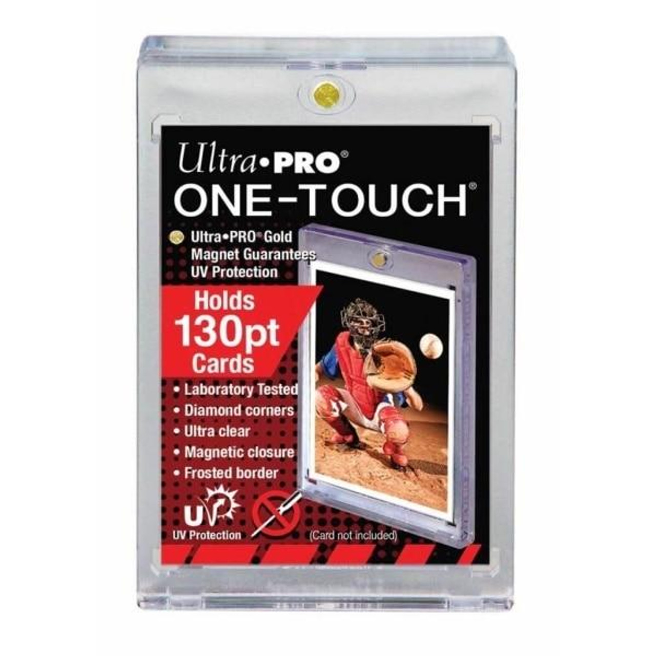 Ultra Pro Ultra Pro Specialty Holder UV One-Touch 130pt Card Case
