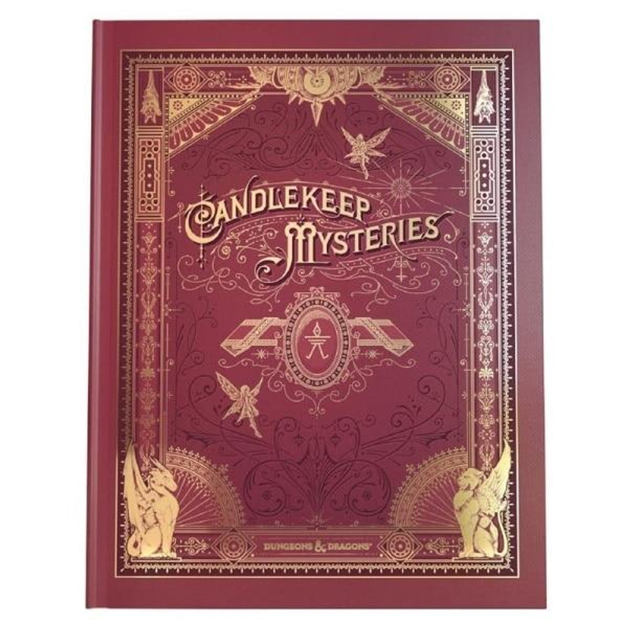 Wizards of the Coast DandD Manual - 27 Candlekeep Mysteries Alternate Cover