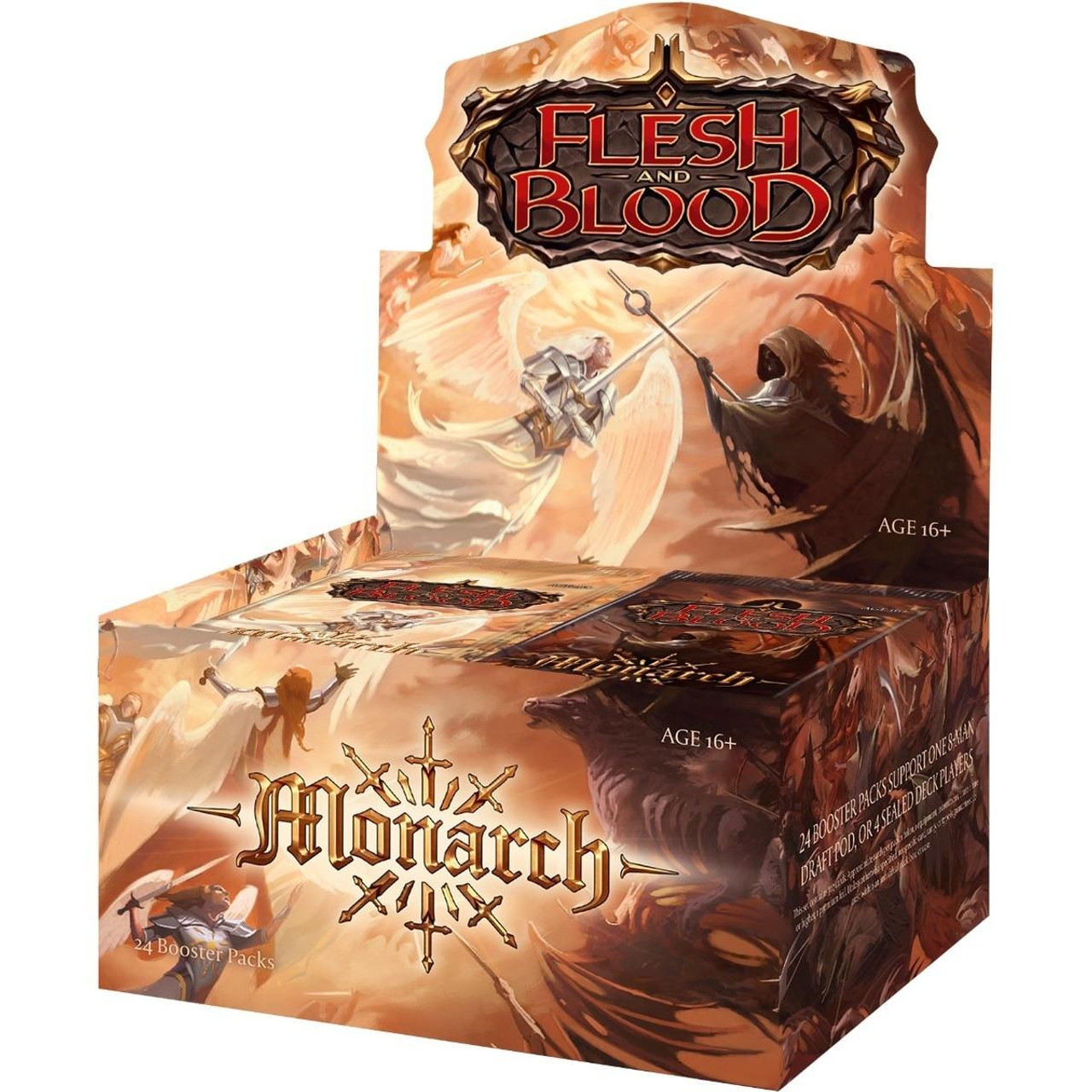 Legend Story Studios Flesh and Blood Booster Box - Monarch First Edition/Alpha Print