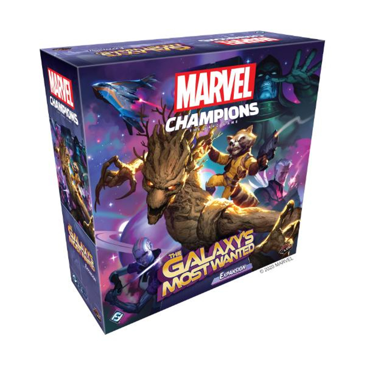 Fantasy Flight Games Marvel Champions LCG The Galaxys Most Wanted Expansion