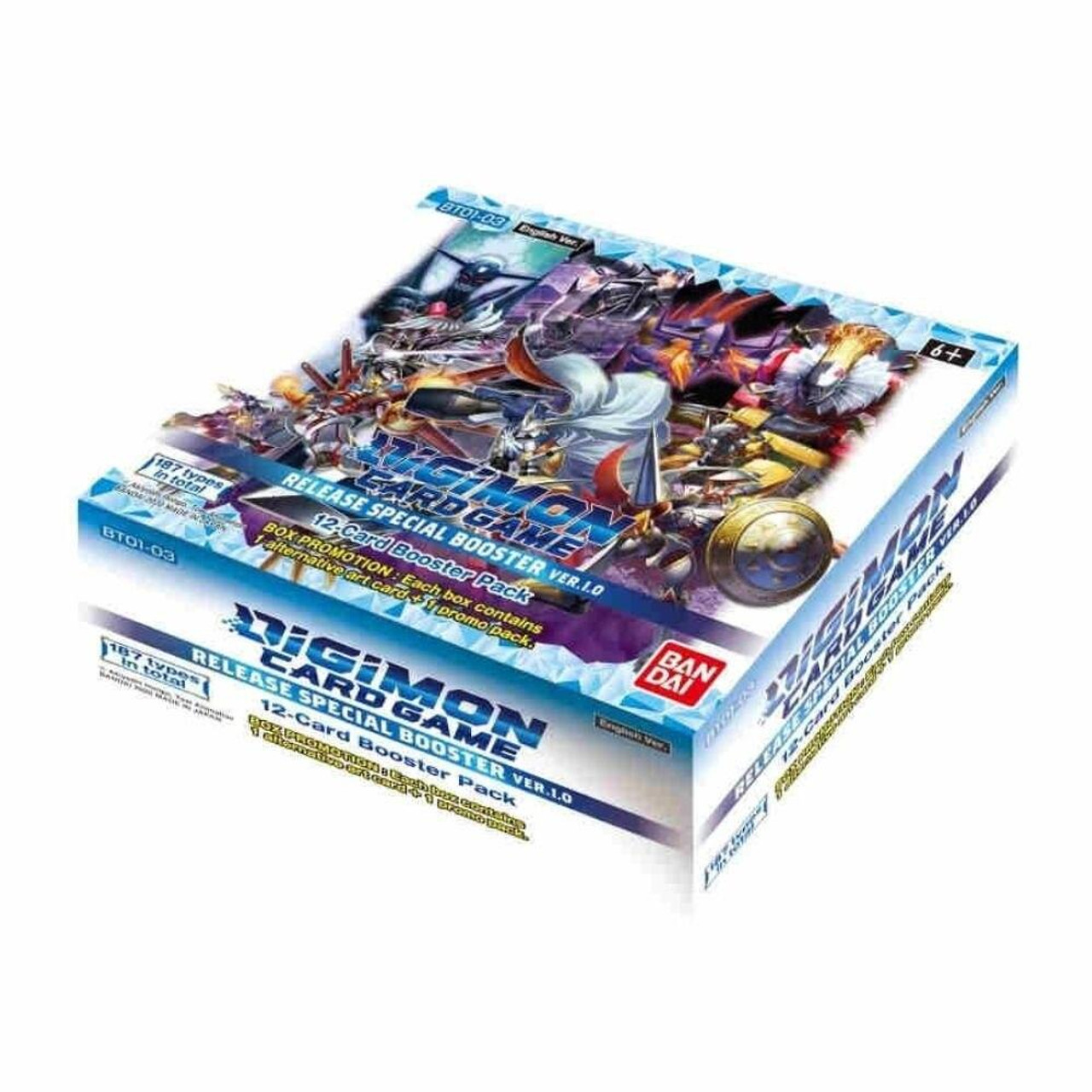 Bandai Digimon Card Game Box - BT01-03 Release Special Booster 1.0