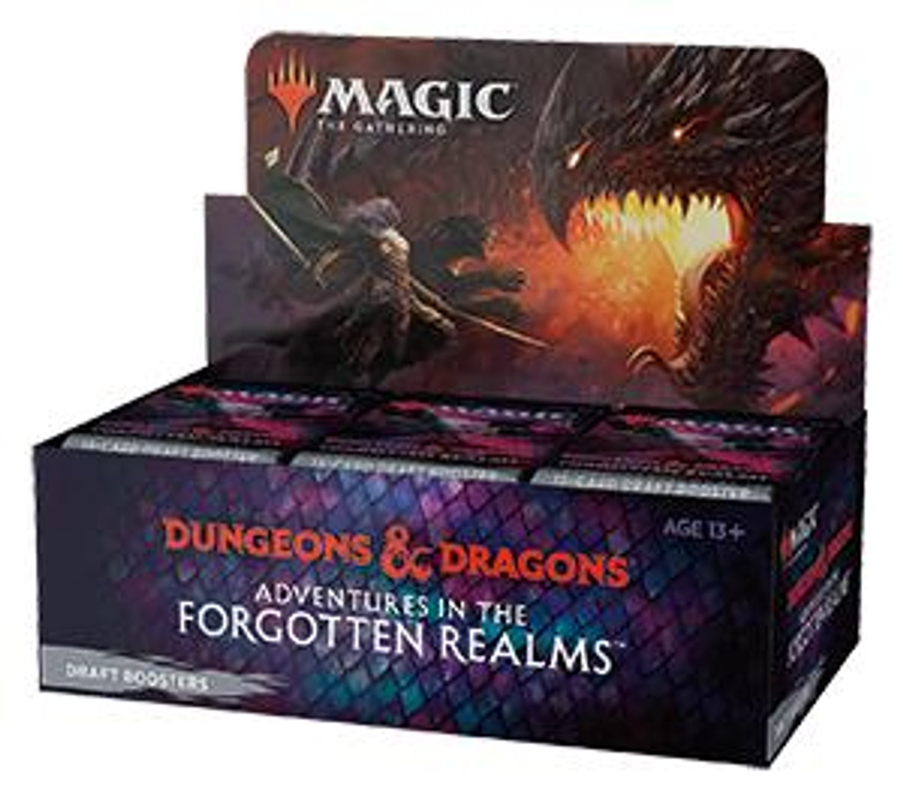 Wizards of the Coast Magic Draft Box - Adventures In the Forgotten Realms