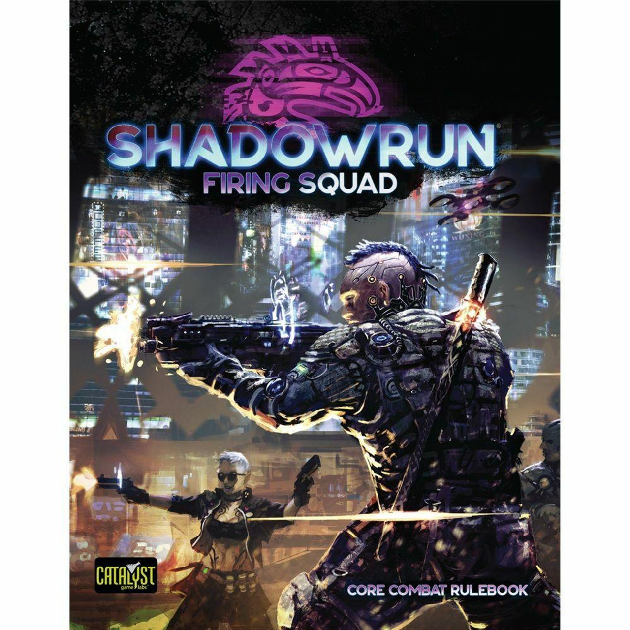 Catalyst Game Labs Shadowrun 6E RPG Campaign - Firing Squad