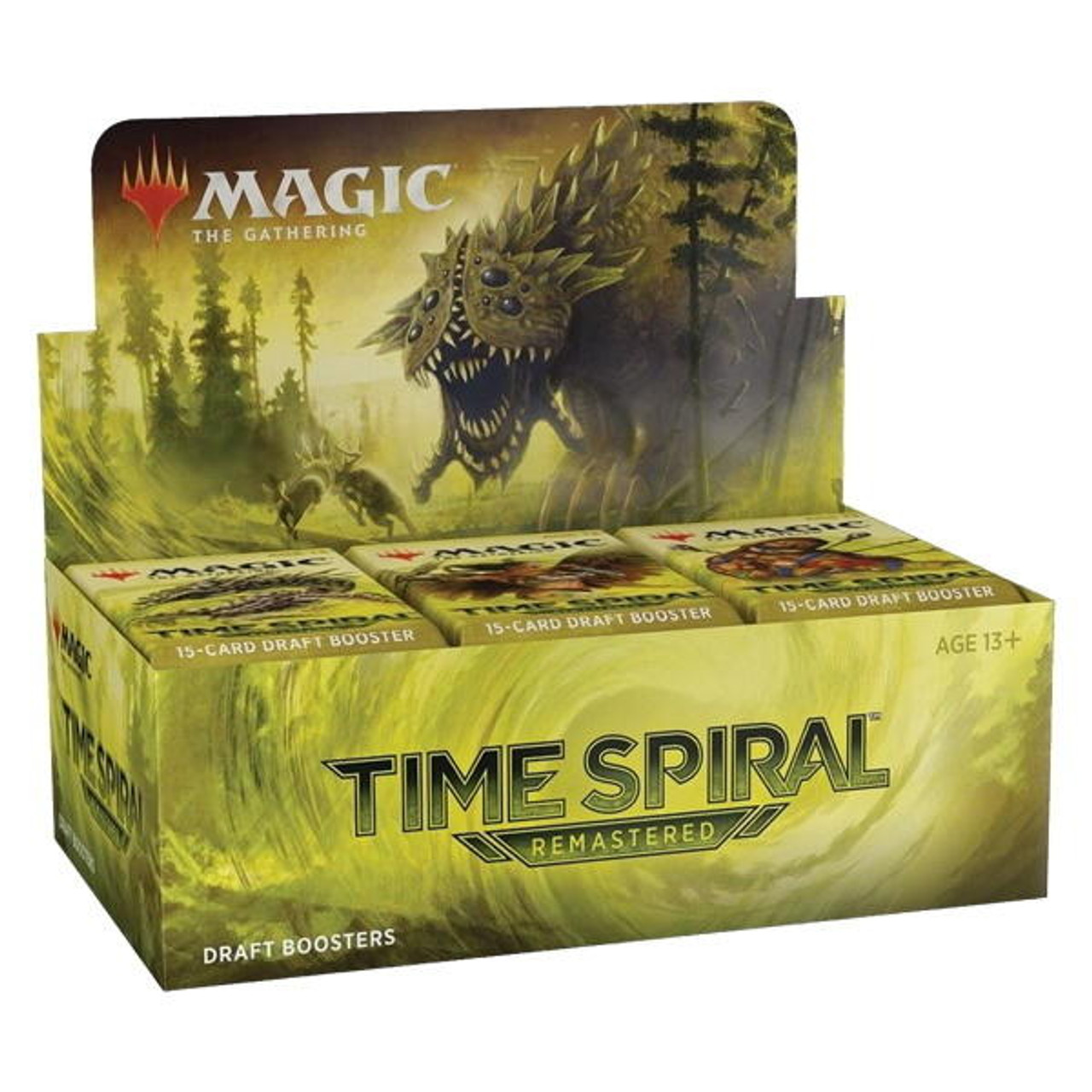 Wizards of the Coast Magic Draft Box - Time Spiral Remastered
