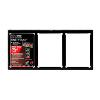 Ultra Pro Ultra Pro Black Border 3-Card One-Touch Card Case