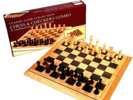 Hansen Classic Games Chess and Checkers Combo