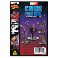 Atomic Mass Games Marvel Crisis Protocol - Magneto and Toad