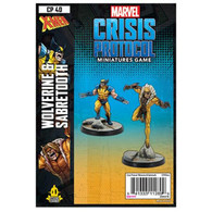 Atomic Mass Games Marvel Crisis Protocol - Wolverine and Sabretooth